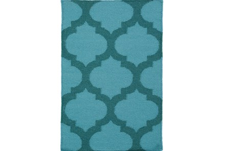 24X36 Rug-Tron Teal/Forest