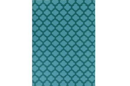 108X156 Rug-Tron Teal/Forest
