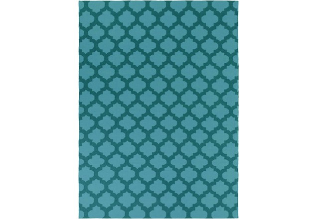 108X156 Rug-Tron Teal/Forest - 360