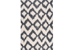 60X96 Rug-Vijak Slate/Ivory