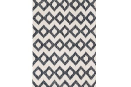 96X132 Rug-Vijak Slate/Ivory