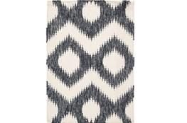 108X156 Rug-Vijak Slate/Ivory