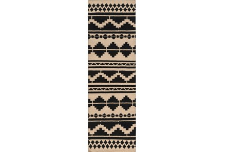 30X96 Rug-Paso Black - Main