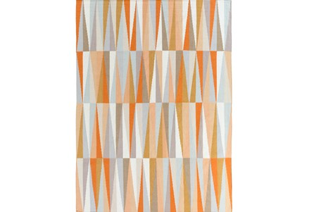 60X96 Rug-Spitz Burnt Orange