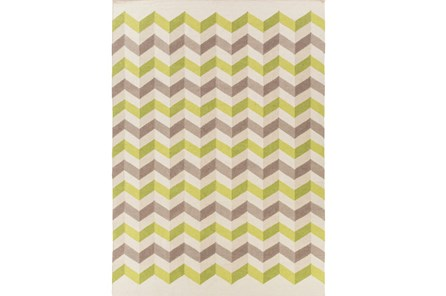 96X132 Rug-Accordion Olive/Grey