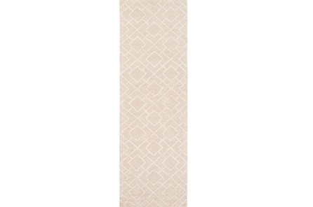30X96 Rug-Diamante Ivory