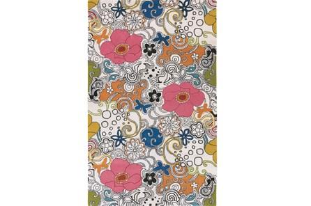 108X156 Rug-Jackie Floral
