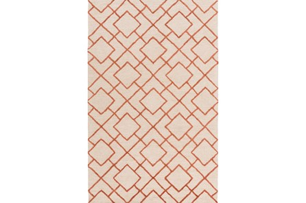48X72 Rug-Diamante Coral - Main