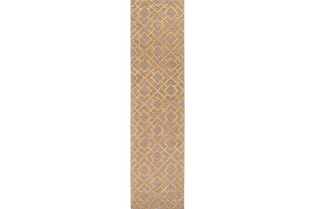 30X120 Rug-Diamante Gold
