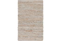 24X36 Rug-Terrain Beige/Grey