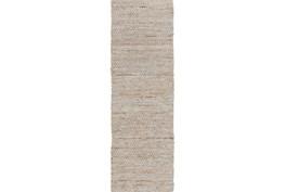 30X96 Rug-Terrain Beige/Grey