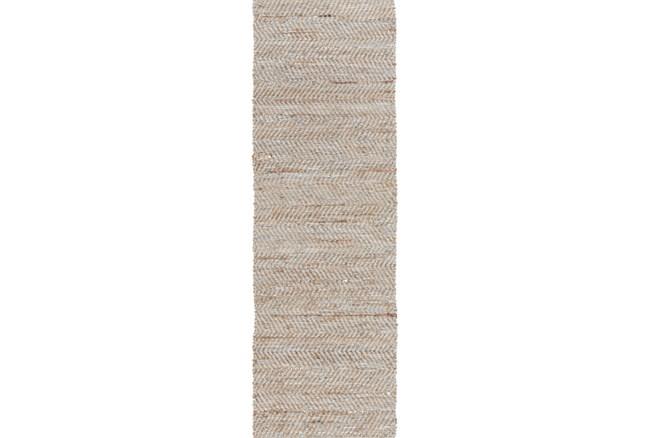 30X96 Rug-Terrain Beige/Grey - 360