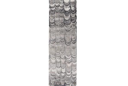 30X96 Rug-Pluma Charcoal