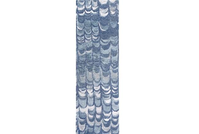 30X96 Rug-Pluma Cobalt - 360