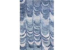 39X63 Rug-Pluma Cobalt