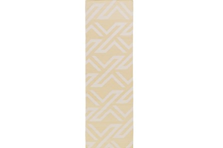 30X96 Rug-Vendetta Yellow/Ivory - Main