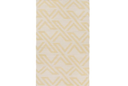 48X72 Rug-Vendetta Yellow/Ivory