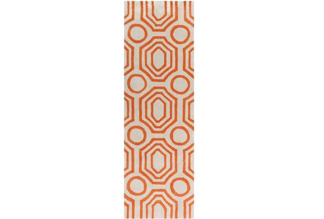 30X96 Rug-Joya Orange/Ivory - 360