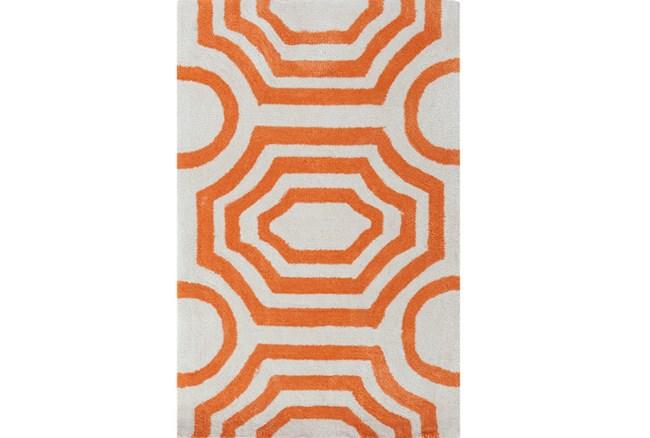 39X63 Rug-Joya Orange/Ivory - 360