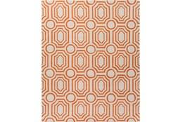 8'x10' Rug-Joya Orange/Ivory