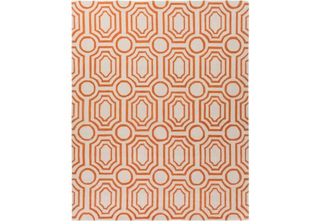 96X120 Rug-Joya Orange/Ivory - 360