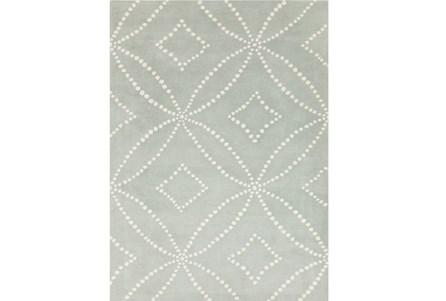 24X36 Rug-Puntada Grey/Ivory