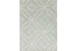 96X120 Rug-Puntada Grey/Ivory