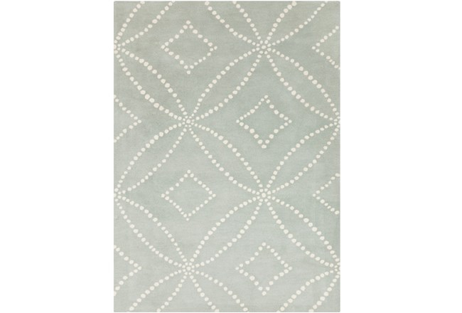 96X120 Rug-Puntada Grey/Ivory - 360