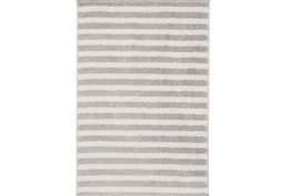 24X36 Rug-Karah Grey Stripe
