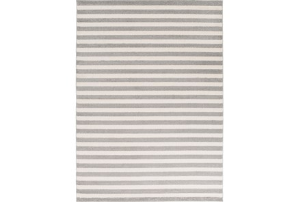 63X87 Rug-Karah Grey Stripe