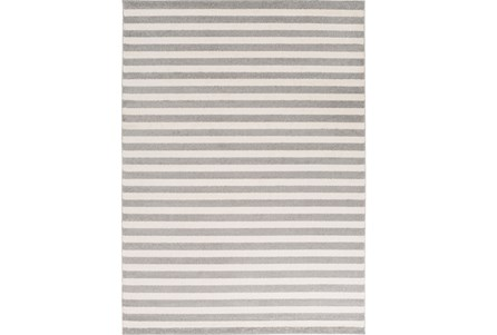 79X114 Rug-Karah Grey Stripe