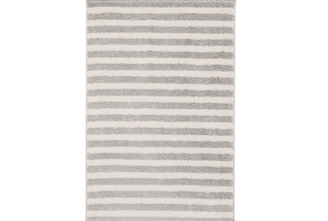 111X150 Rug-Karah Grey Stripe - 360