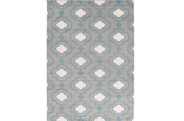 111X150 Rug-Quatrefoil Layers Slate