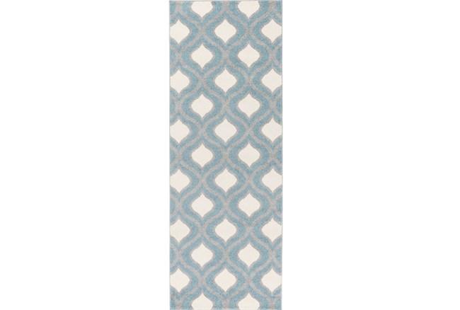 31X87 Rug-Ornate Slate - 360