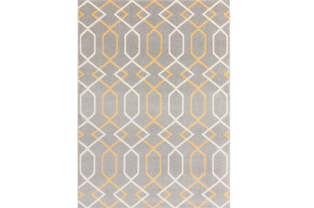 79X114 Rug-Conrad Yellow