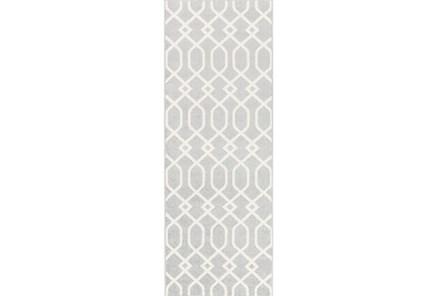 31X87 Rug-Conrad Grey - Main