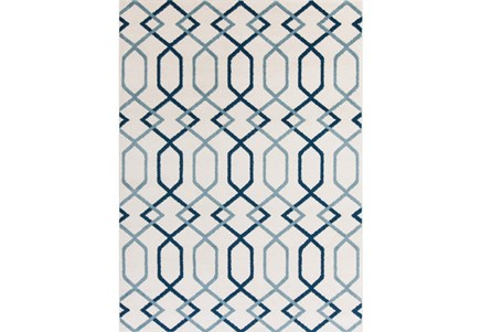 111X150 Rug-Conrad Blue