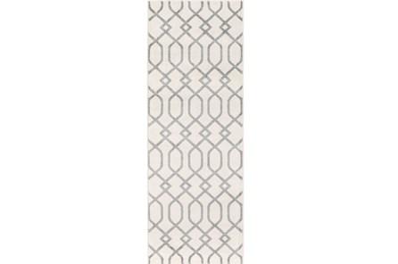 31X87 Rug-Conrad Ivory/Grey