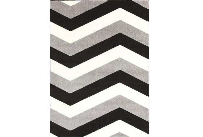 111X150 Rug-Tambaleo Grey/Black/Ivory - 360