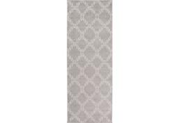 31X87 Rug-Temblor Grey