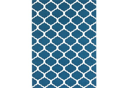 94X123 Rug-Anor Navy