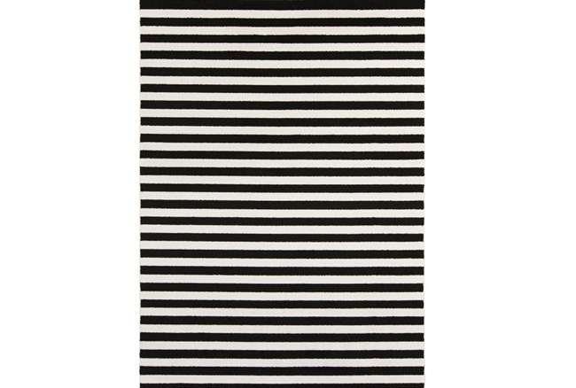 39X60 Rug-Karah Stripe Black - 360