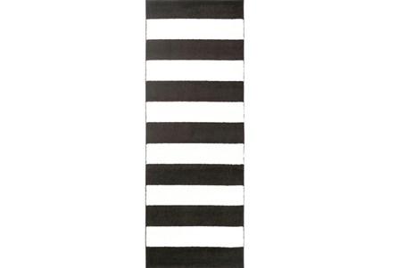31X87 Rug-Limba Black
