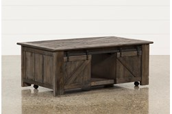 Grant Lift-Top Coffee Table W/Casters