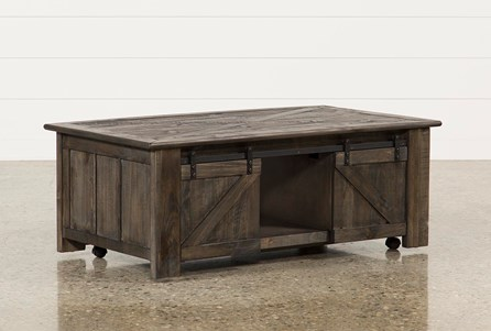 Grant Lift-Top Cocktail Table W/Casters