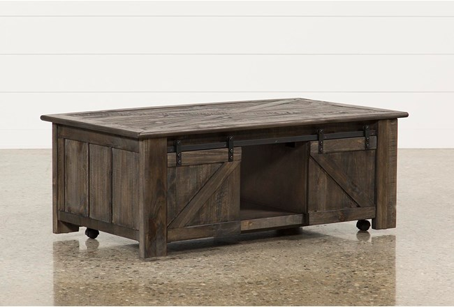 Grant Lift-Top Coffee Table W/Casters - 360