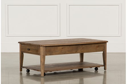Rustic Coffee Table To Fit Your Home Decor Living Spaces