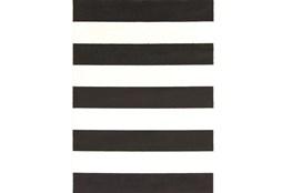 94X123 Rug-Limba Black