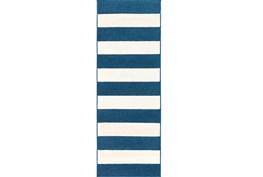 31X87 Rug-Limba Navy