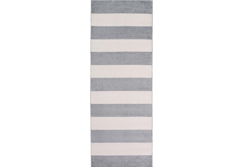 31X87 Rug-Limba Grey